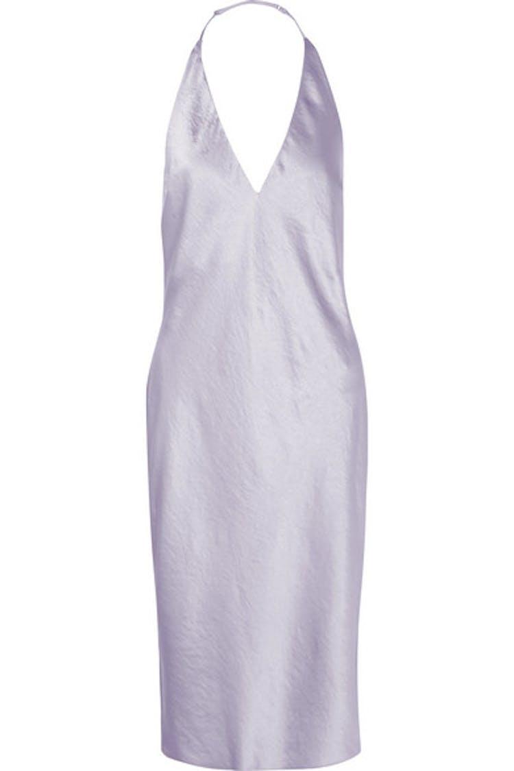 53fd32ce424c Lilla Alexander Wang kjole med halterneck til bryllup