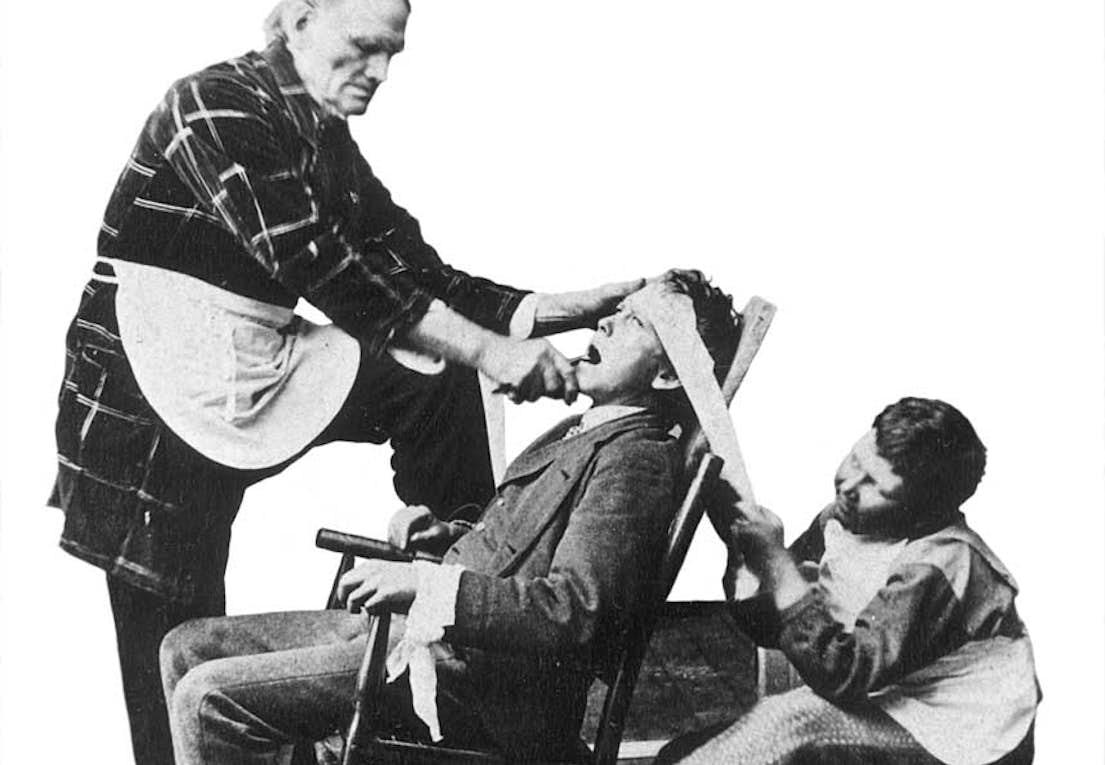 Bildresultat för tandläkare medeltiden