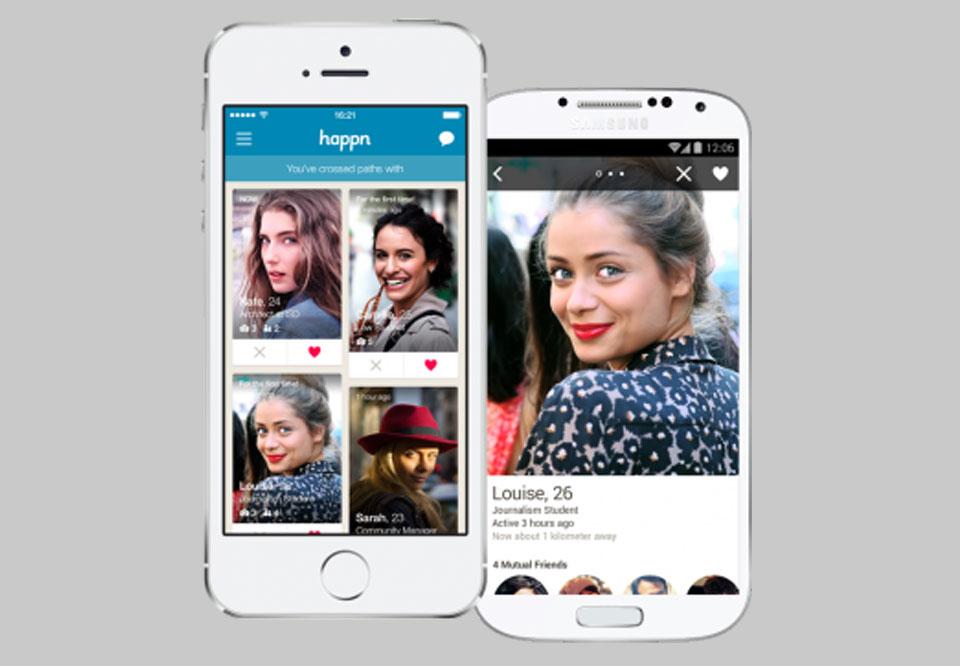 Happn dating app Norge