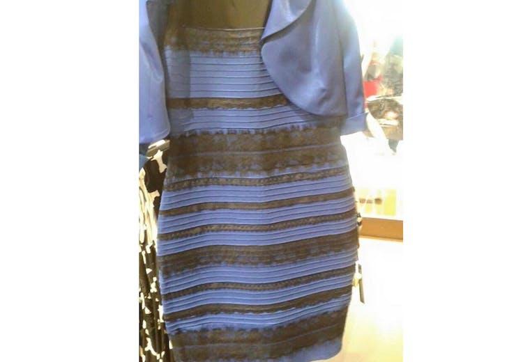 ddba032b629b Dagens store mysterium  Hvilken farve har kjolen