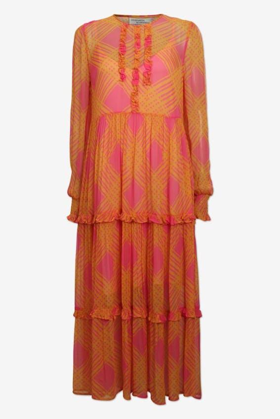 f3c21a5e69d8 Baum und Pferdgarten orange kjole til bryllup