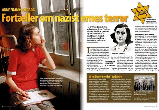 Anne Franks dagbog | Altomhistorie.dk