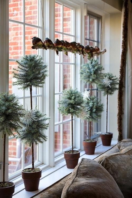 vinduespynt til jul