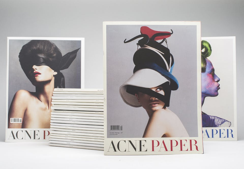 Fashion style Paper acne 9 launches for girls