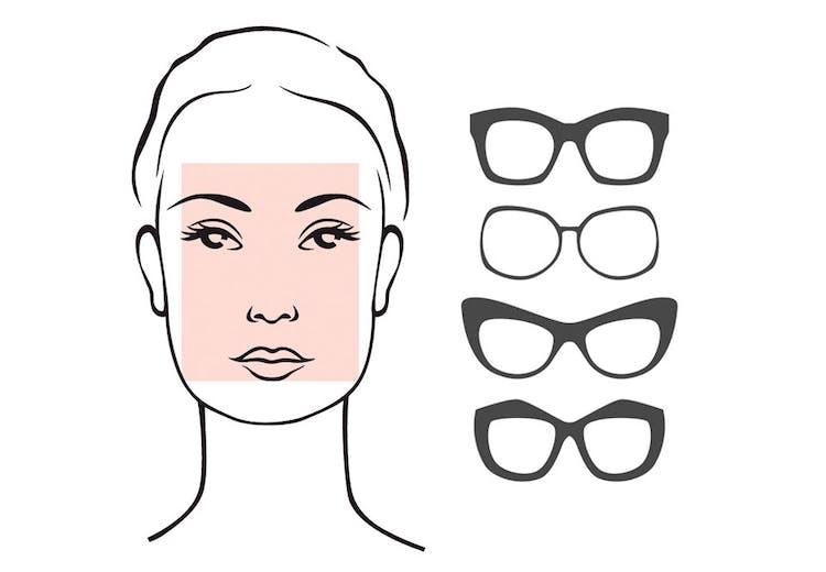 acdc615b30d0 Solbriller til aflangt ansigt
