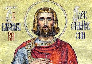 Alexander nevskij mosaik en qesujgzlt8qg xrqvrg