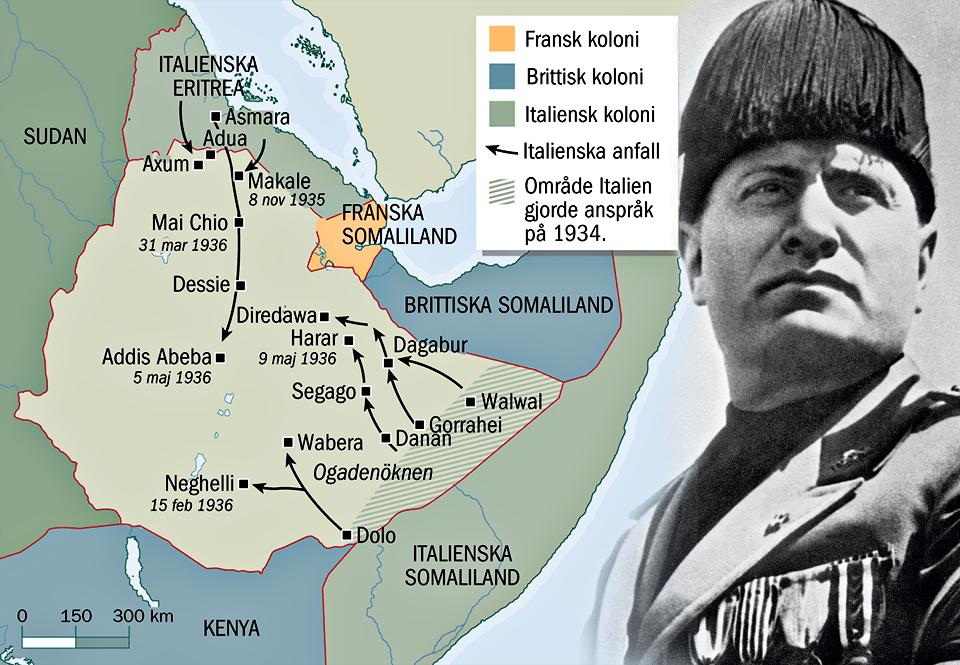 Mussolinis Revansch I Abessinien Militarhistoria Se