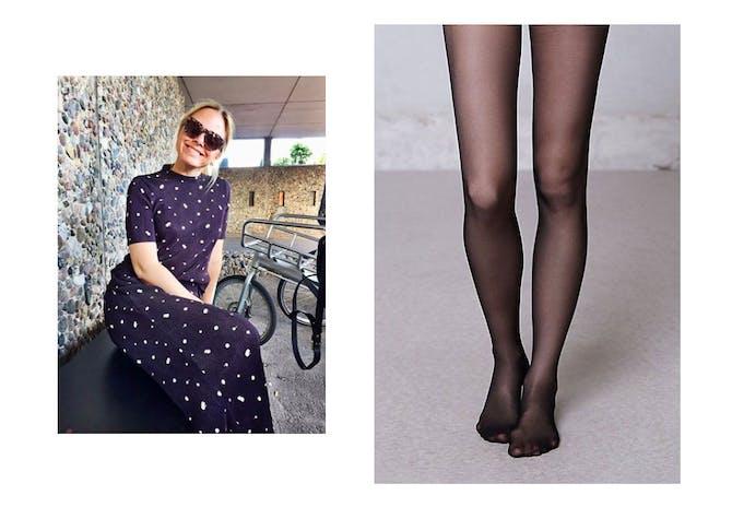 442947c3 Gå for den sorte strømpebuksen, tipser Anette, Costumes stylist og  journalist.