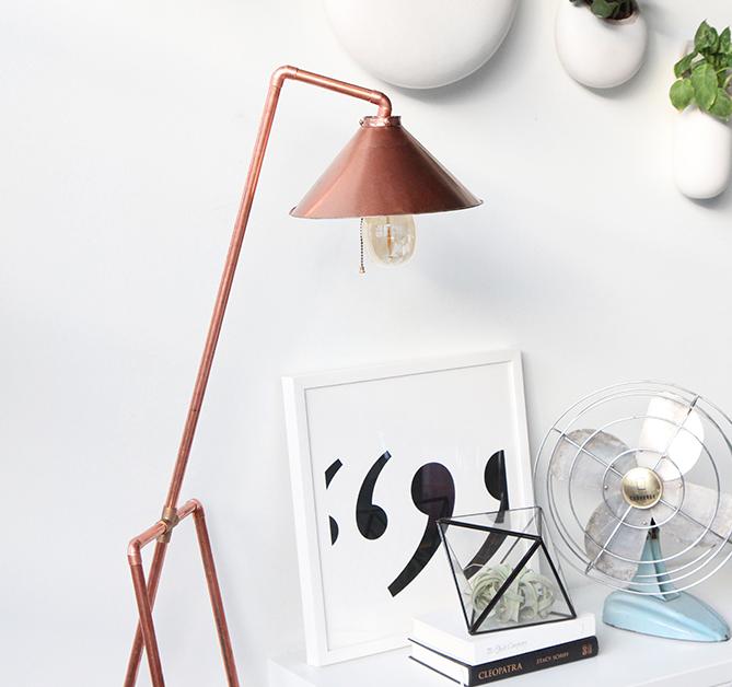lampe lav din egen lampe. Black Bedroom Furniture Sets. Home Design Ideas