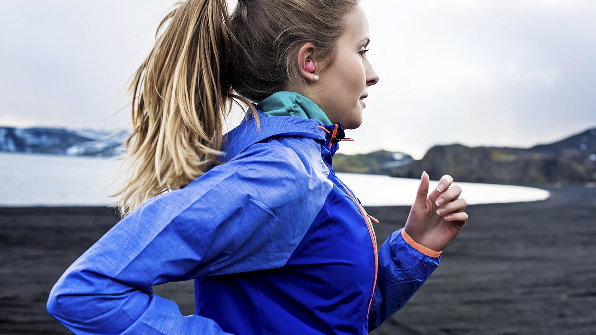 trådlösa hörlurar gym