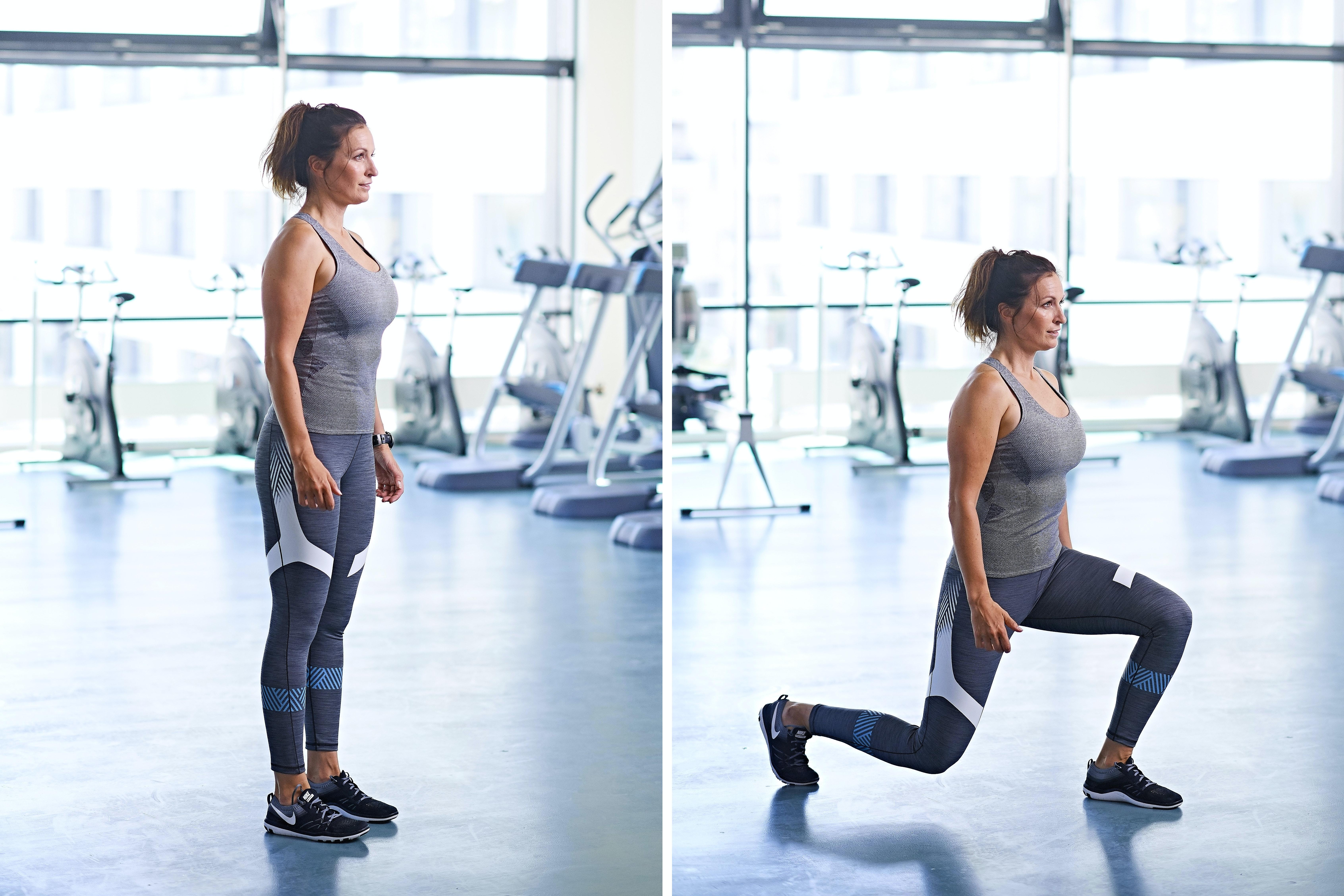 styrketräning med kroppen som vikt