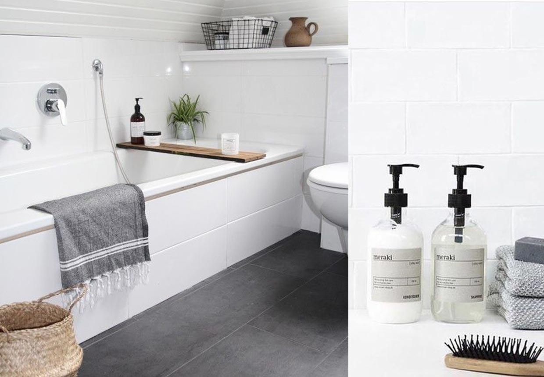 Nordisk stil  Inspiration til indretning af badeværelset  Bobedre ...