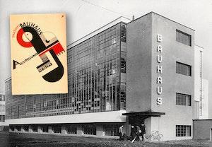 Bauhaus huset dessau och affisch gkzplvhzu8yrfeqhwrxkhg