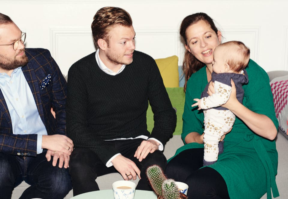 Beslutningen ændrede Annas liv: Mor til et regnbuebarn