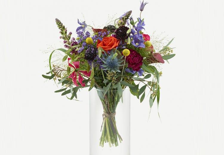Fantastisk Blomsterbuket: Sådan binder du din egen buket | Costume.dk LK-76