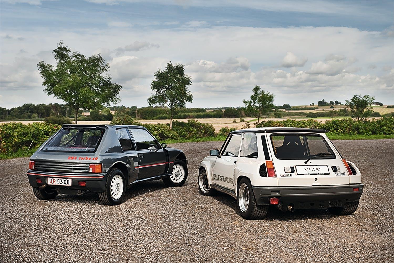 Renault 5 Turbo 2 vs. Peugeot 205 T16 | Bilmagasinet.dk