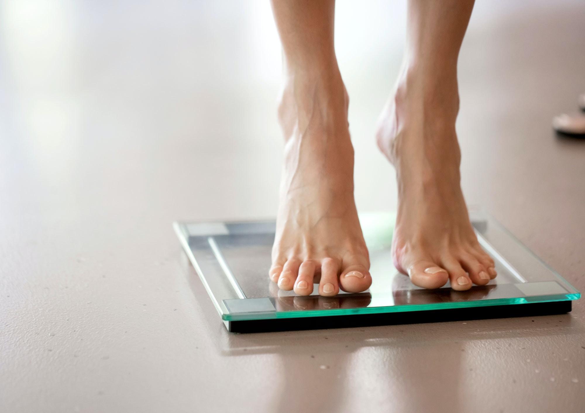 vægt med bmi måler