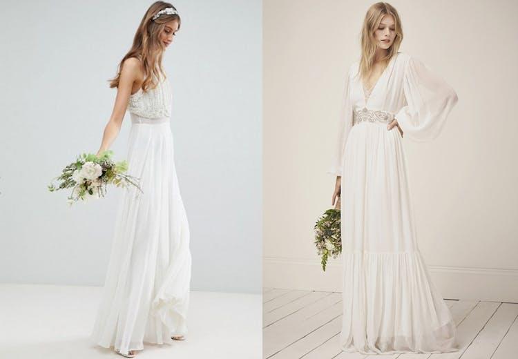 83f72f12 Billig brudekjole: 10 flotte kjoler til brylluppet | Costume.dk