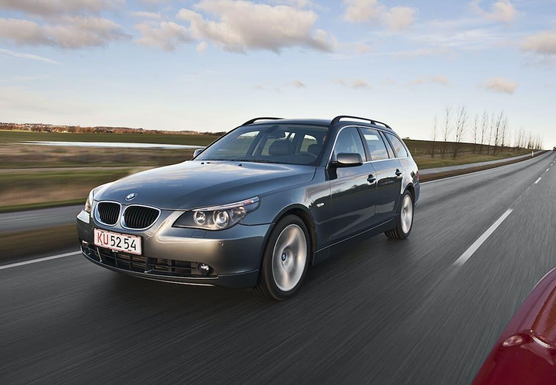 Brugttest: BMW 535d Touring Steptronic årgang 2005  Se