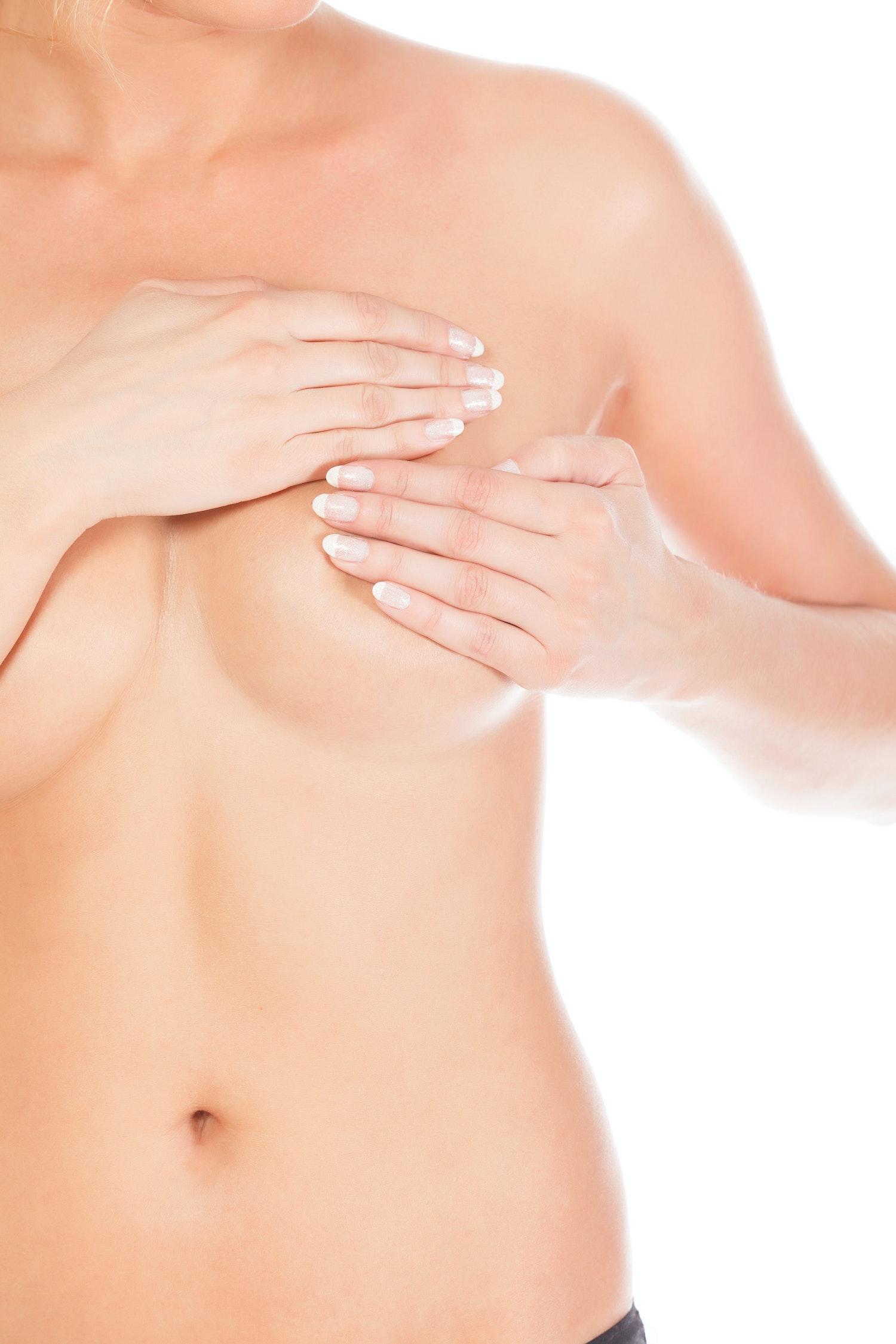 större bröst klimakteriet