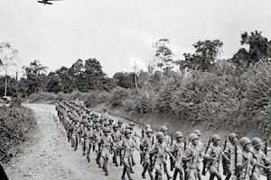 Burma kinesiska soldater marsch de flygande tigrarna andra varldskriget 1943 q1bj1wo6rmhtqbn9x65feq