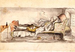 Carl michael bellman i sin cell 20 maj 1794 gtpjrawcv brq07emscziq