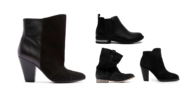 sorte støvler gallerier
