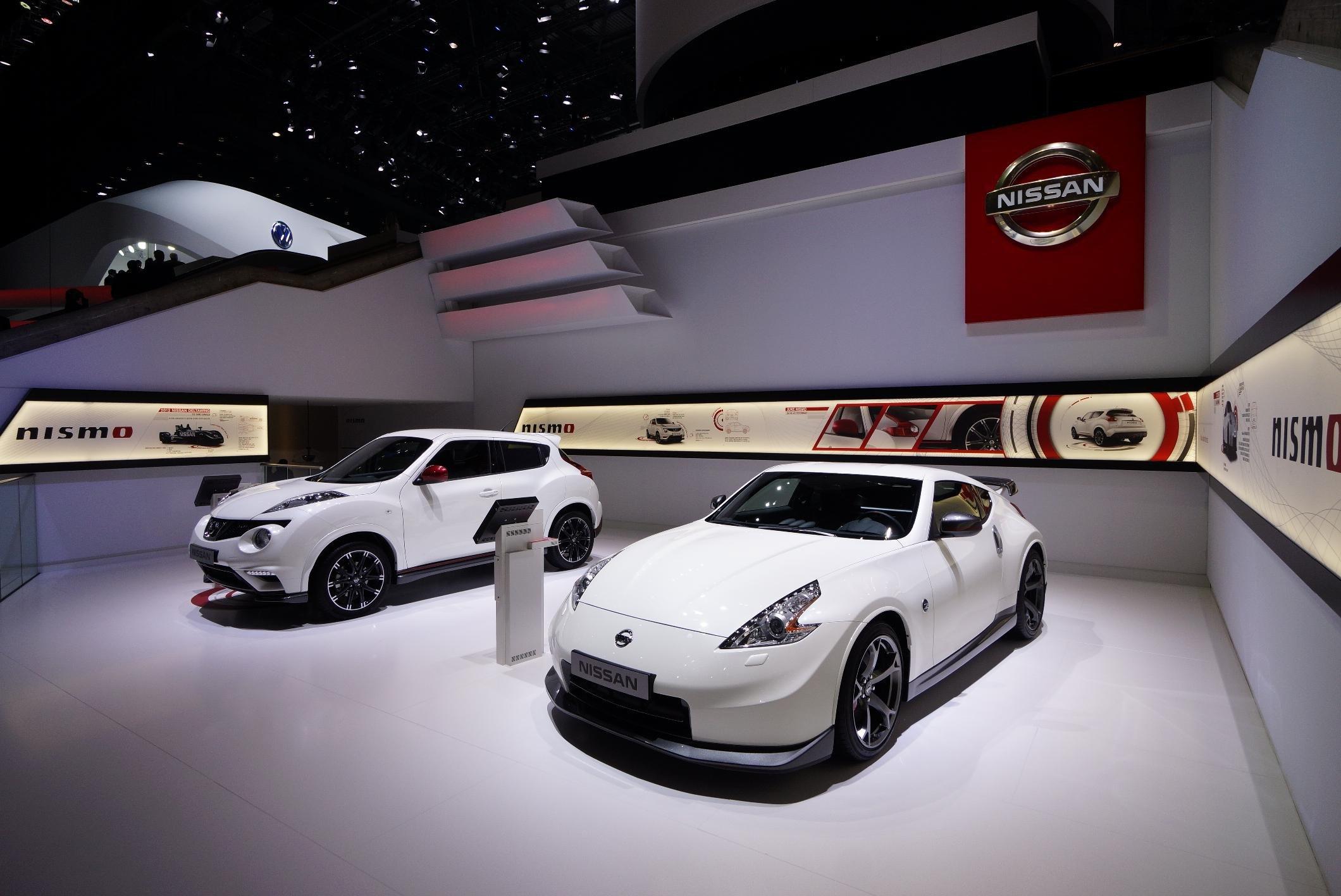 Nissan ny familiebil og flere hk til gt r for Garage seat geneve