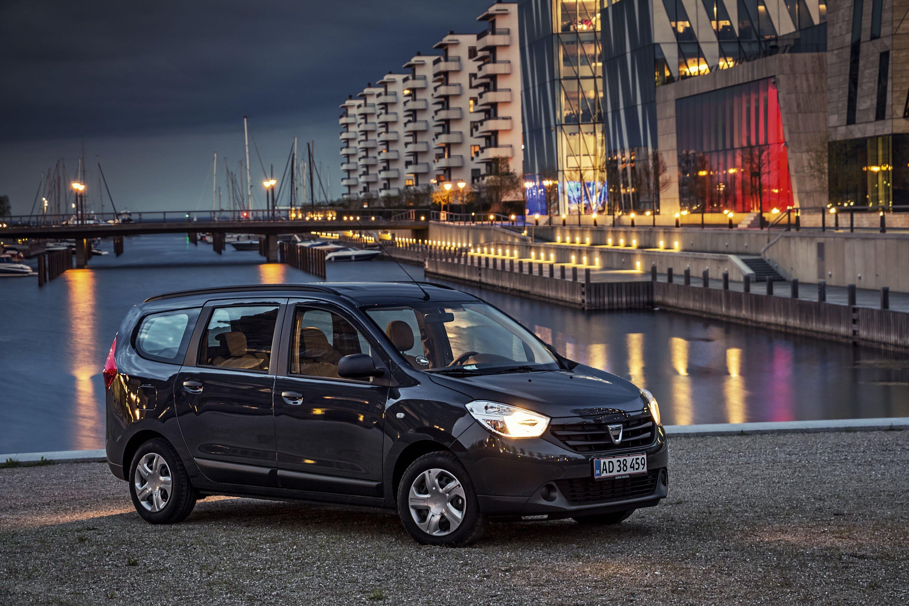 Dacia Lodgy 1,6 Ambiance 7p | Bilmagasinet.dk