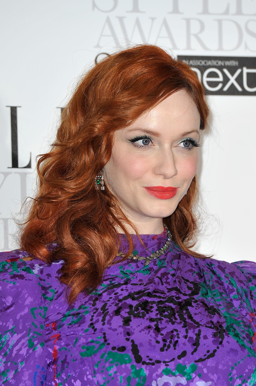 naturligt rødt hår