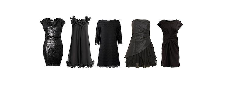 eb96cb8e 35 små sorte festkjoler under 500 kr   Woman.dk