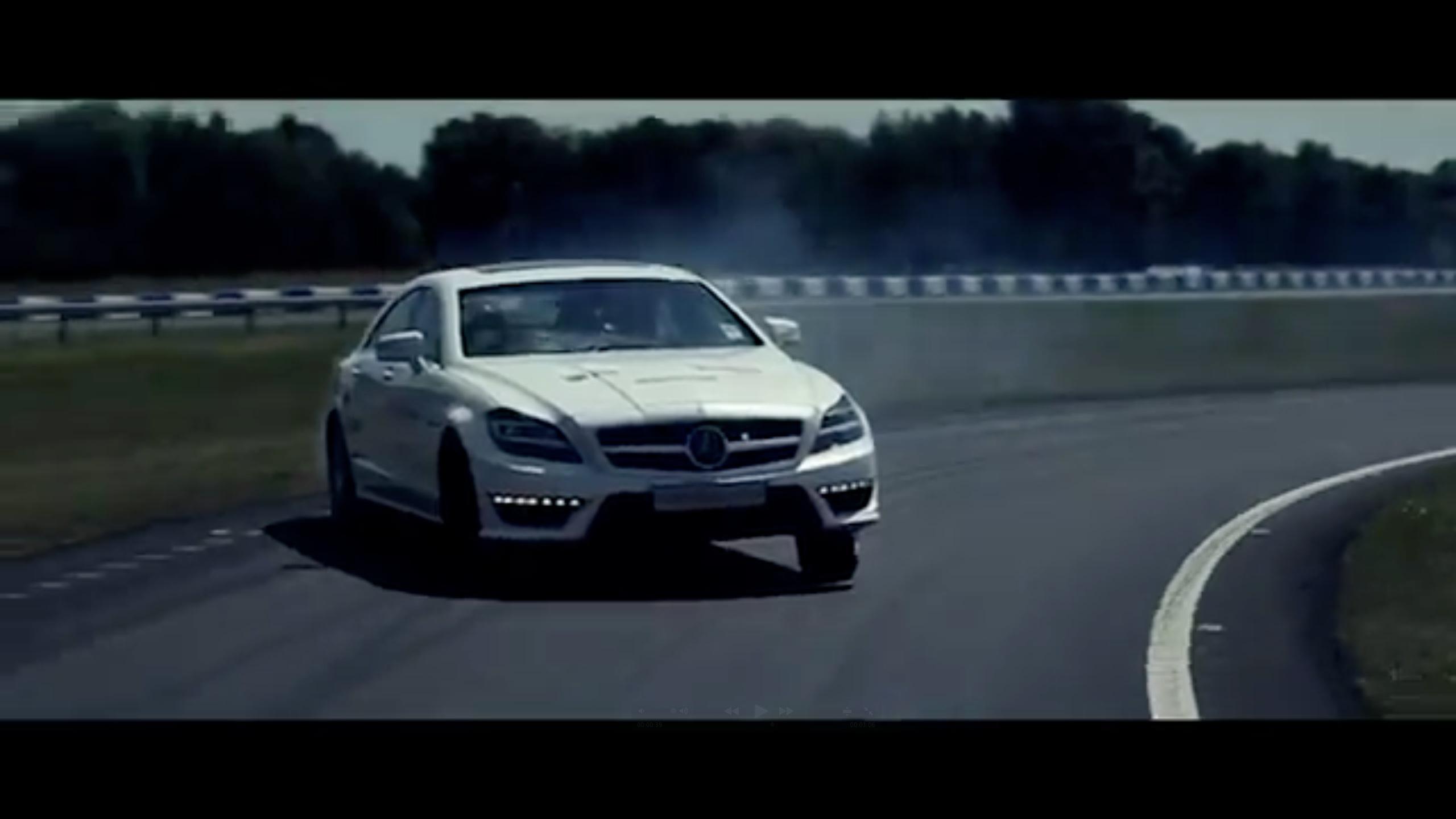 Mercedes testk rere viser hvad en amg skal bruges til for Garage ford bruges