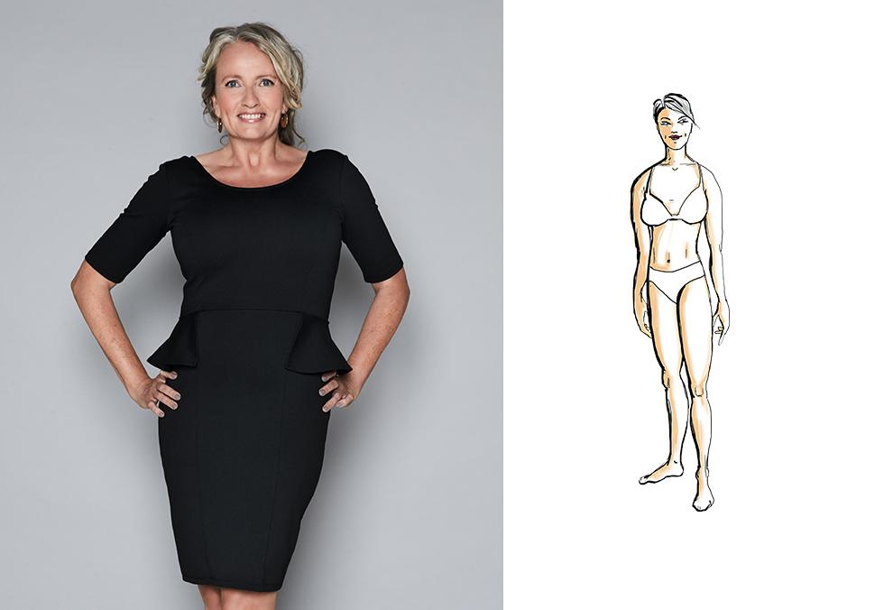 Jakke til din figur: kroppstype timeglass   Tara.no
