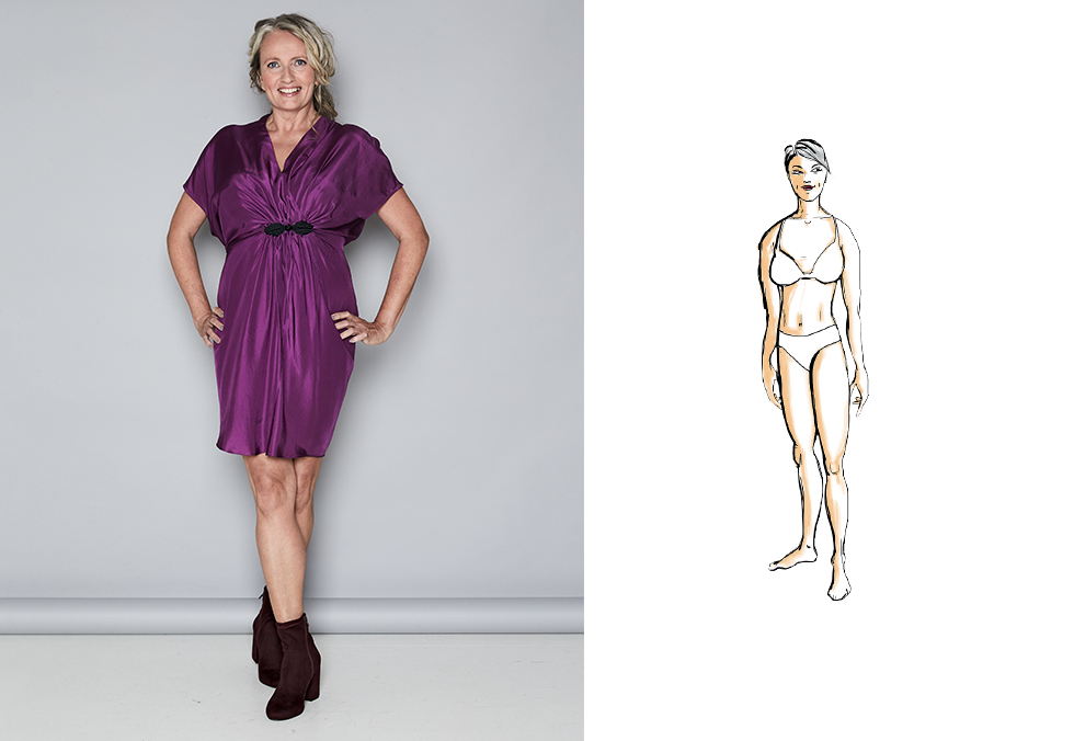 Kjole til din figur: kroppstype kurvet | Tara.no