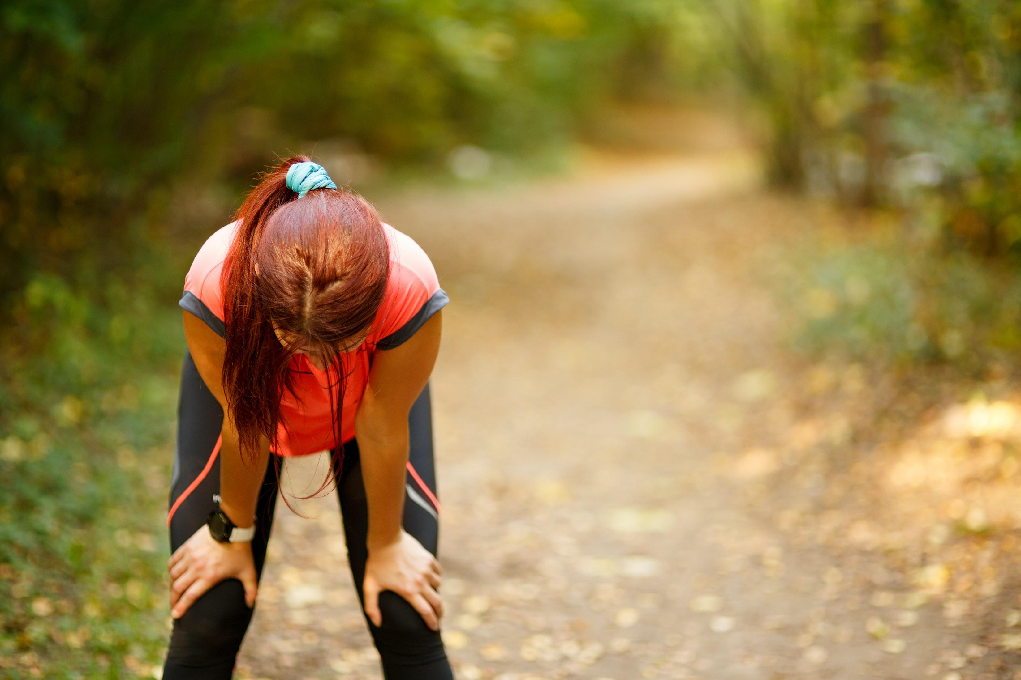 träna när man är trött