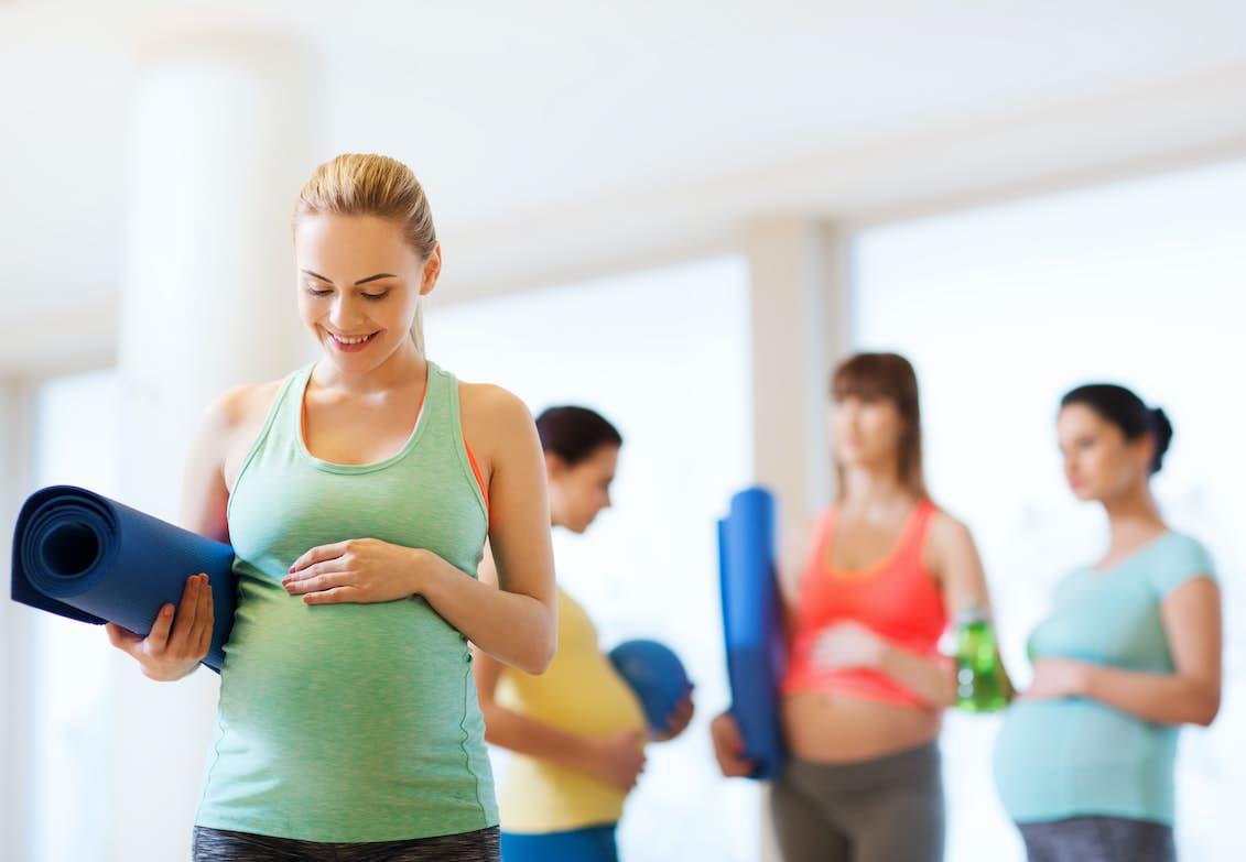 trene magemuskler bajo diabetes graviditets