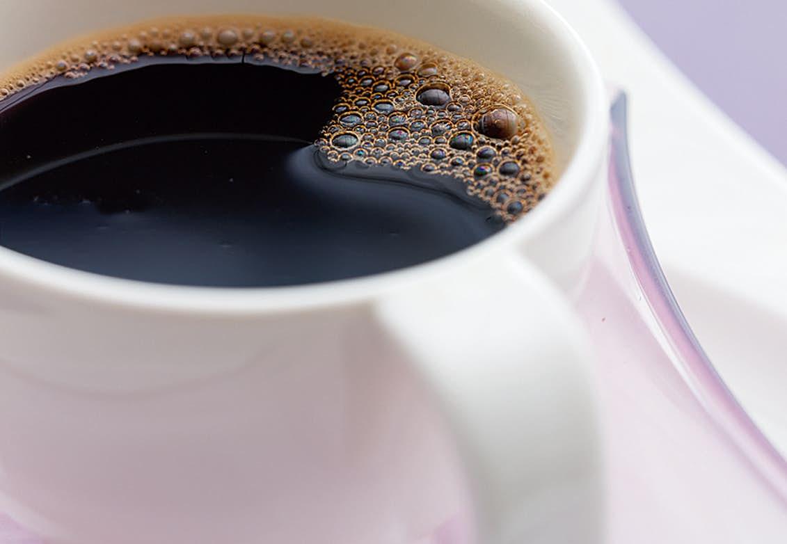 kaffe innan träning