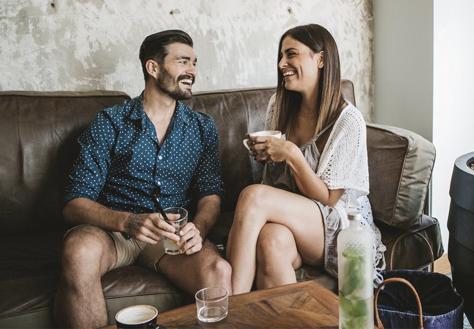 find nye venner efter første date