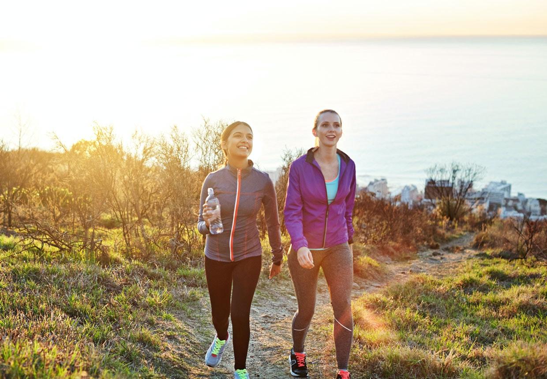 gå tur hver dag ned i vekt