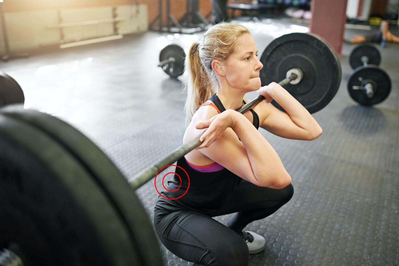 prolaps nakke trening