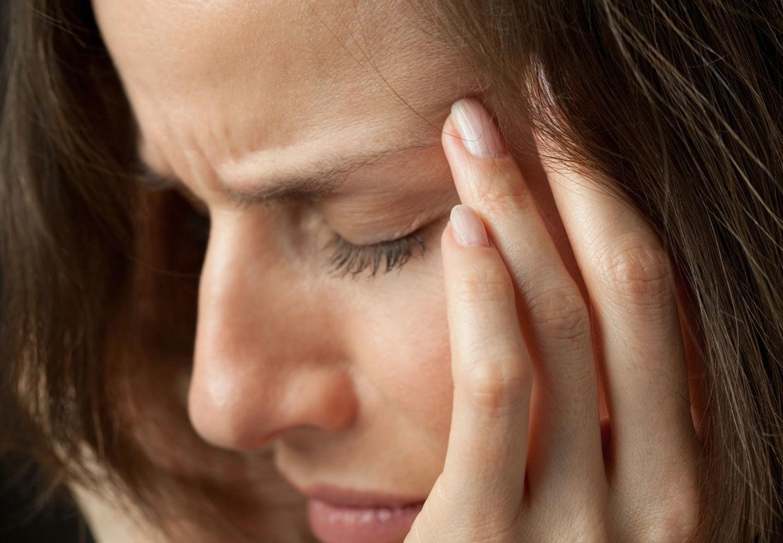 hosta ont i huvudet