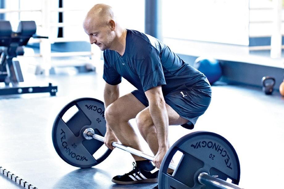 träna bort övervikt