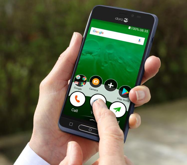 mobil til ældre mennesker