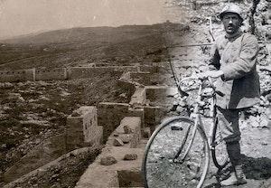 Enrico toti bersaglieri enbent cykelsoldat qxxywebvrba1it8s0cvsag