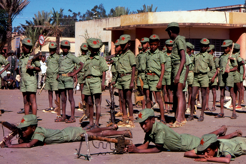 Etiopiska soldater i somalia