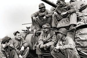 Ernie pyle krigskorrespodent journalist andra varldskriget anzio 1944 bvmgqm16rczf7emipi4rrq