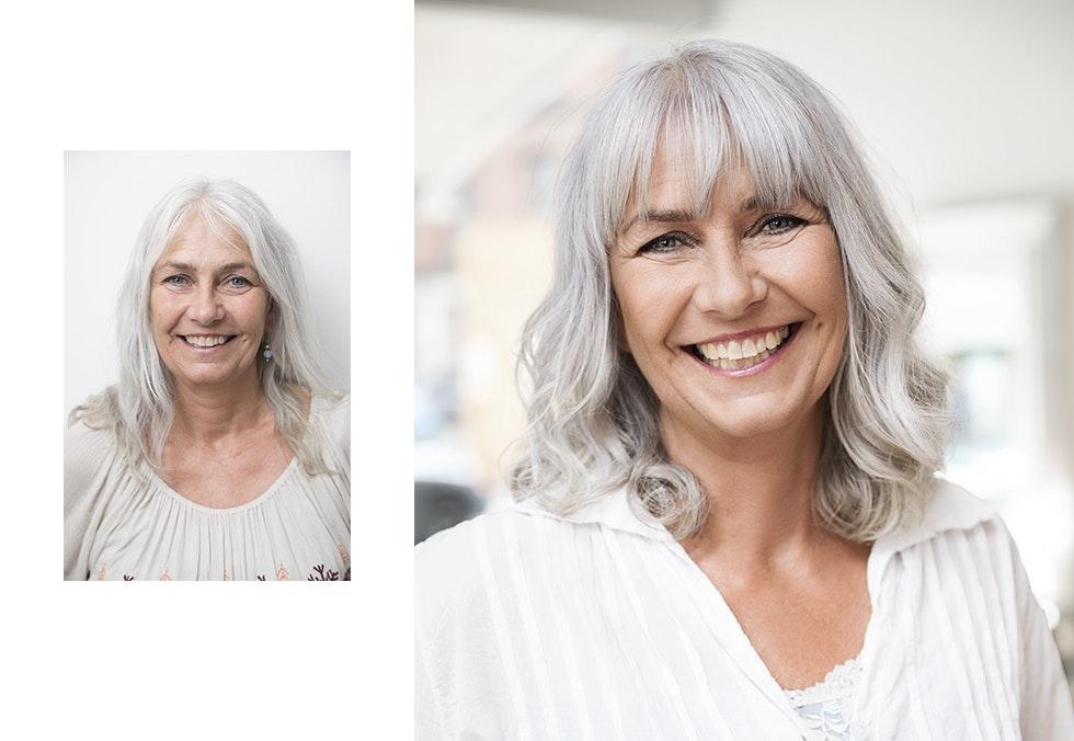 kur mot grått hår