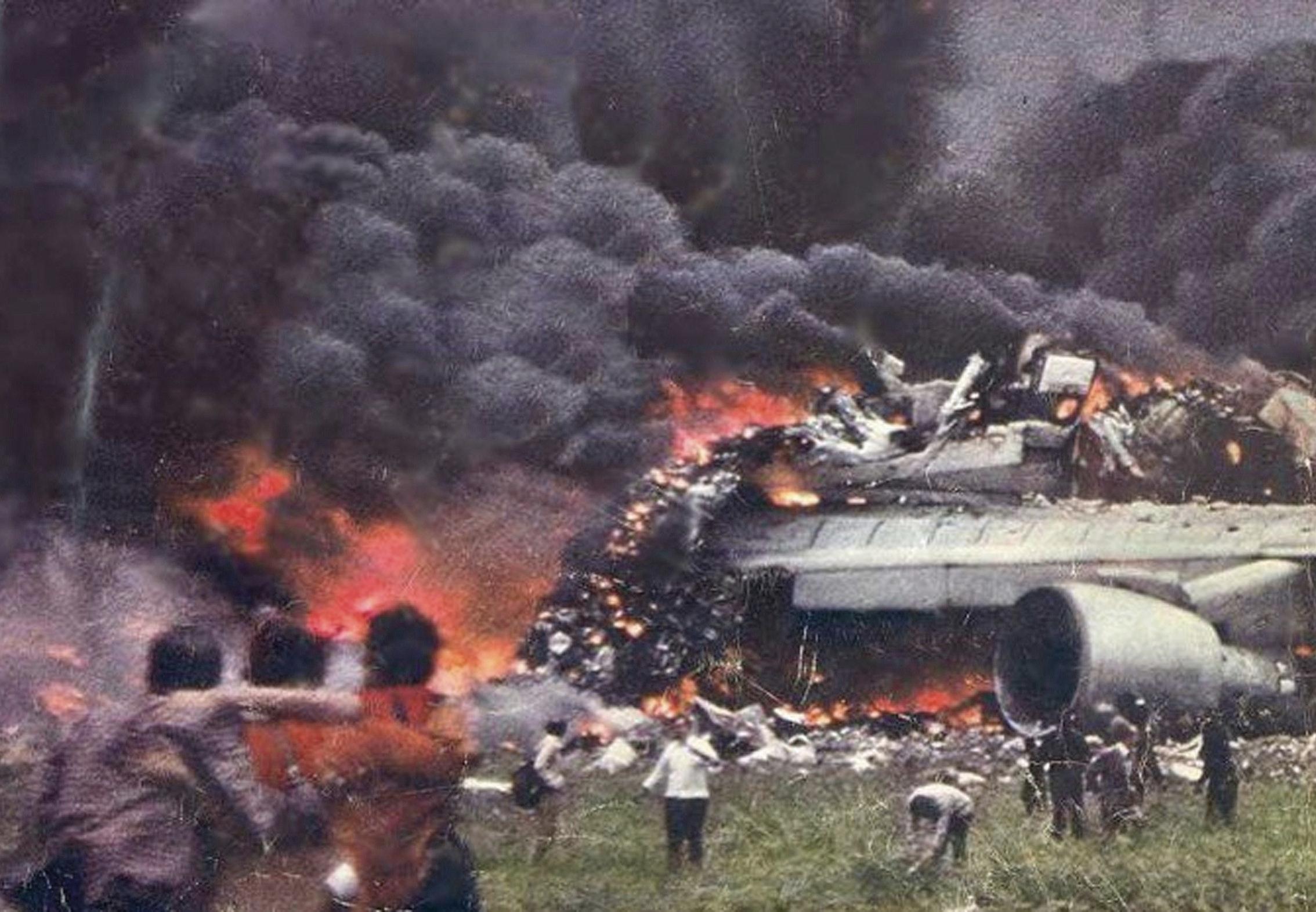 Historiker branden en katastrof