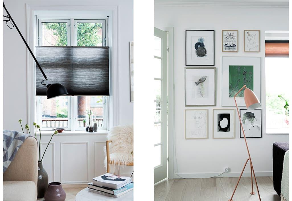 Veldig Vind gardiner fra Faber – med opmåling og montering ZM-74