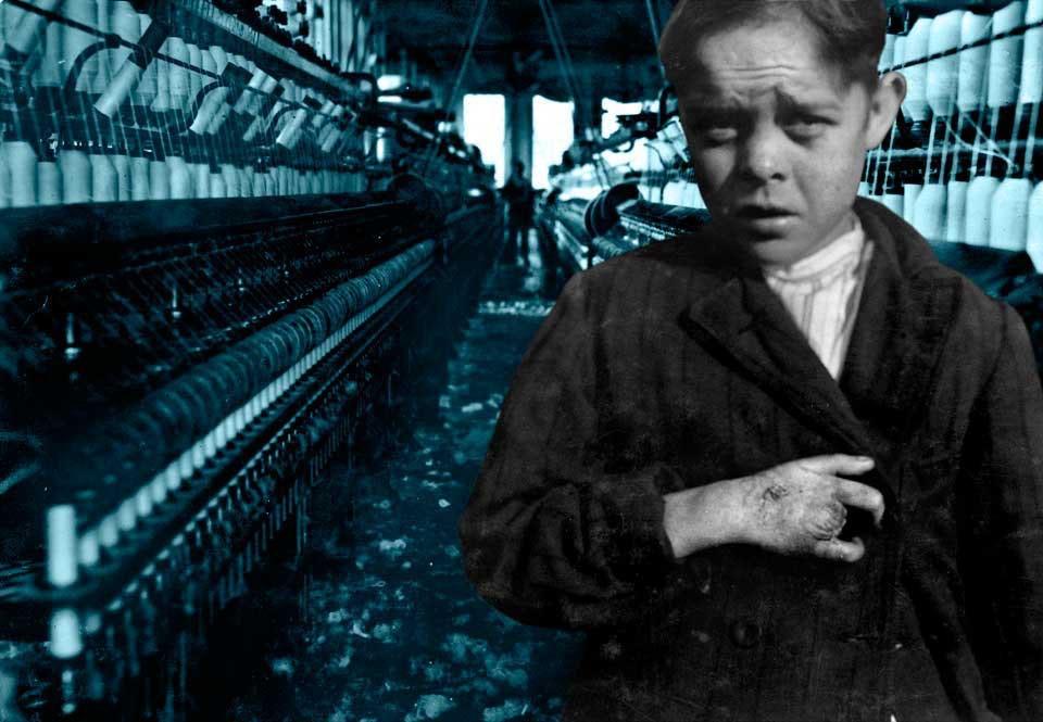 børnearbejde i england